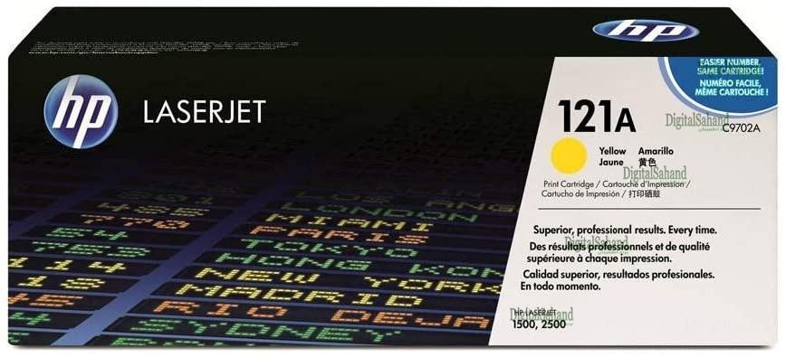 کارتریج تونر HP 121 Yellow