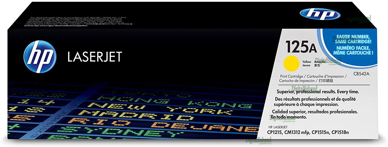 کارتریج تونر HP 125A YELLOW