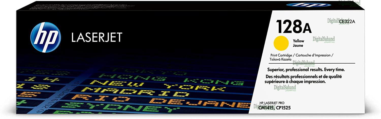 کارتریج تونر HP 128A YELLOW