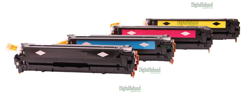 ست کارتریج تونر رنگی HP 128A