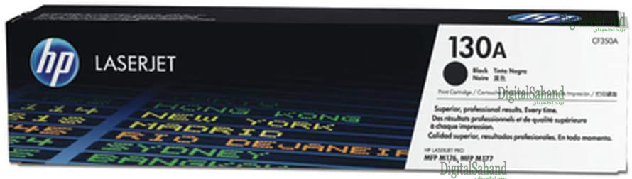 کارتریج تونر HP 130A BLACK