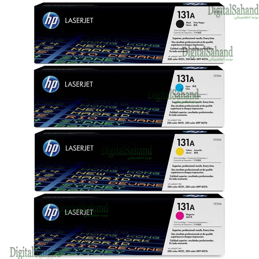 ست کارتریج تونر رنگی HP 131A