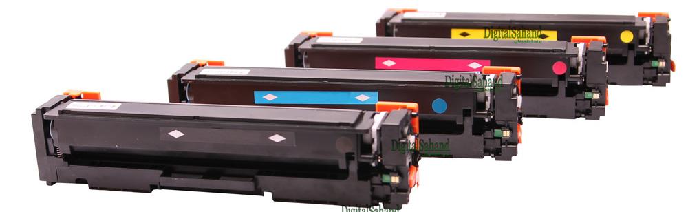 ست کارتریج تونر رنگی HP 201A