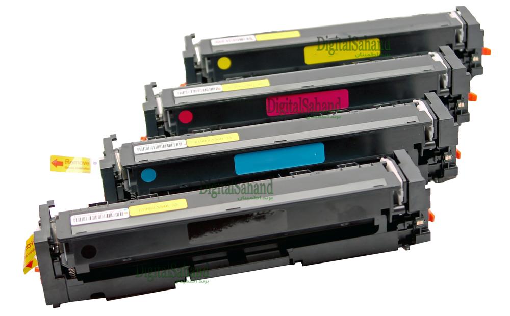 ست کارتریج تونر رنگی HP 203A