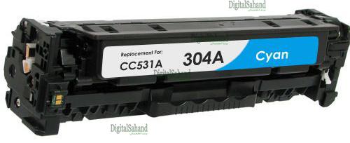 کارتریج تونر HP 304A CYAN