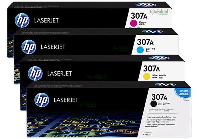 ست کارتریج تونر رنگی HP 307A