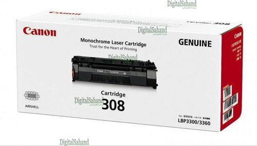 کارتریج تونر مشکی Canon 308