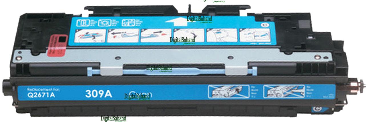 کارتریج تونر HP 309A CYAN