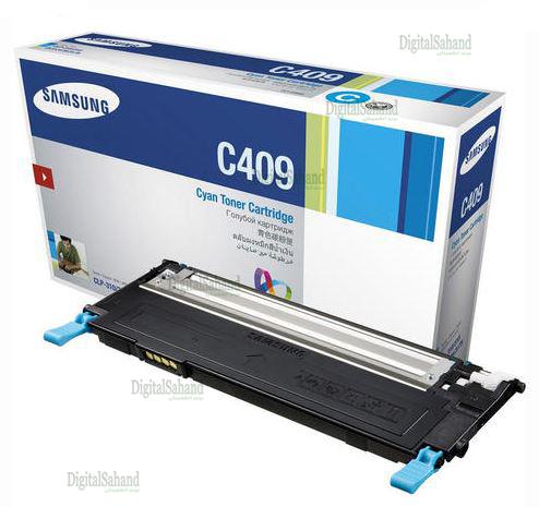 کارتریج تونر آبی SAMSUNG CLT C409