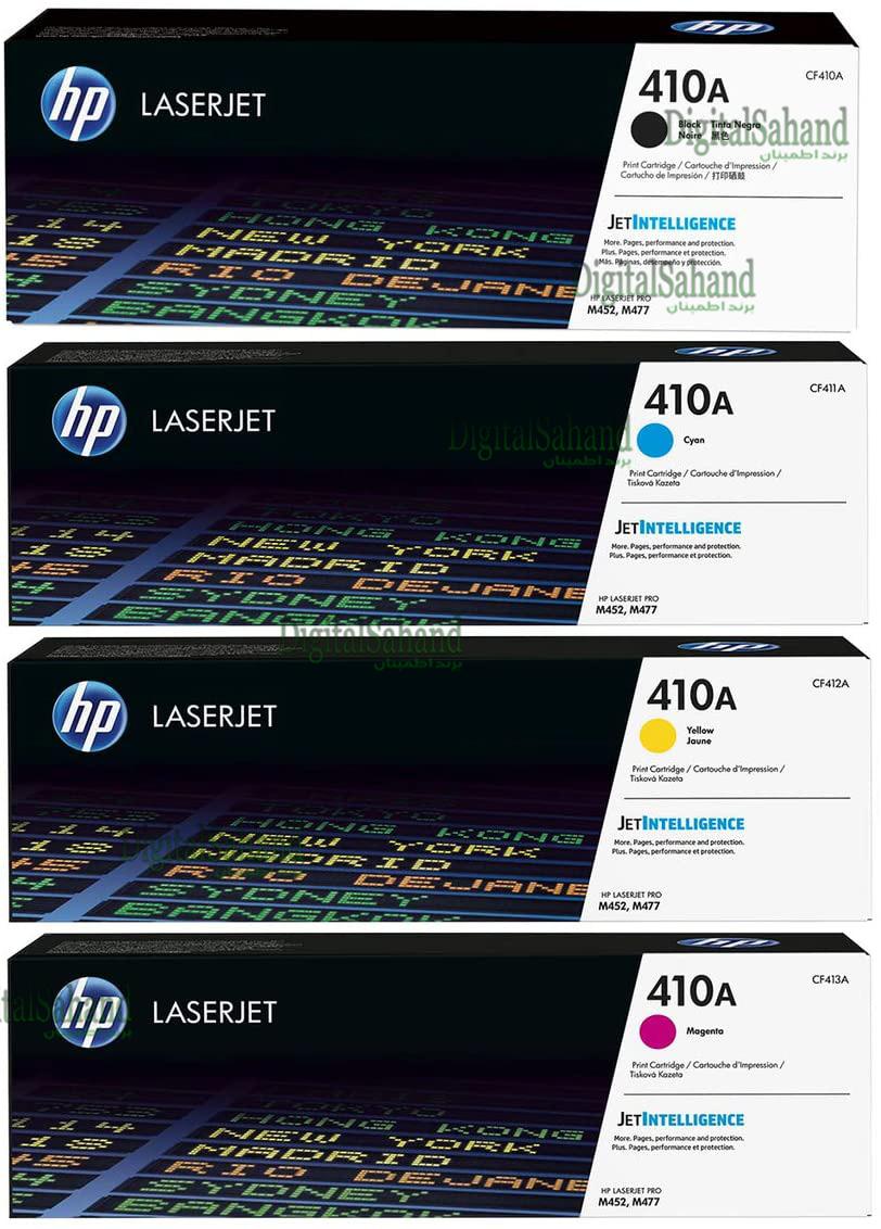 ست کارتریج تونر رنگی HP 410A