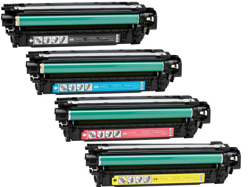 کارتریج تونر لیزری رنگی HP 504A