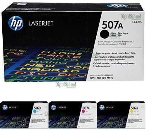 کارتریج تونر لیزری رنگی HP 507A