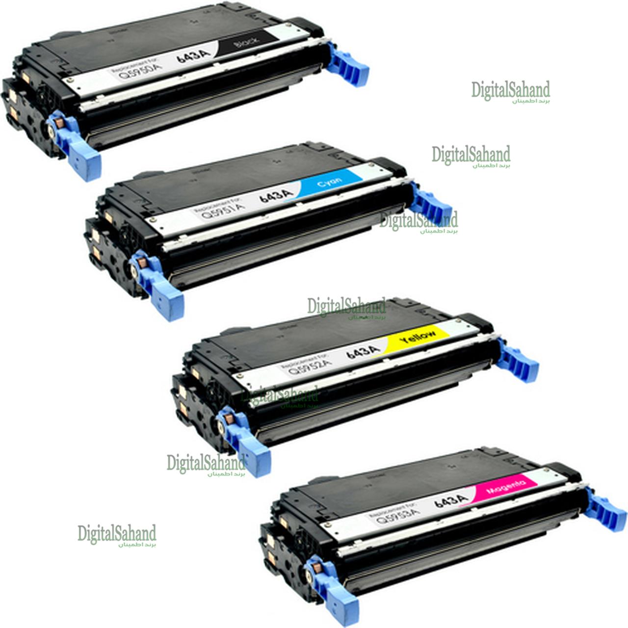 کارتریج تونر لیزری رنگی HP 643A