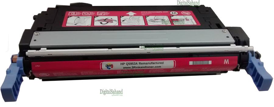 کارتریج تونر HP 643A MAGENTA