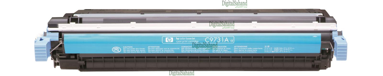 کارتریج تونر HP 645A CYAN