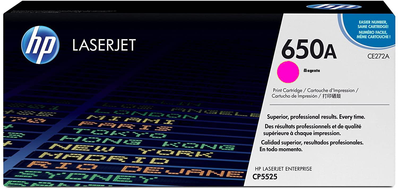 کارتریج تونر HP 650A MAGENTA