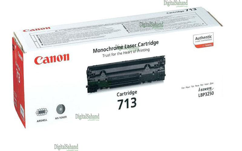 کارتریج تونر مشکی Canon 713