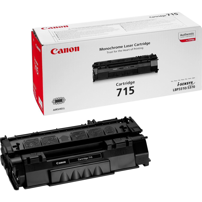 کارتریج تونر مشکی Canon 715