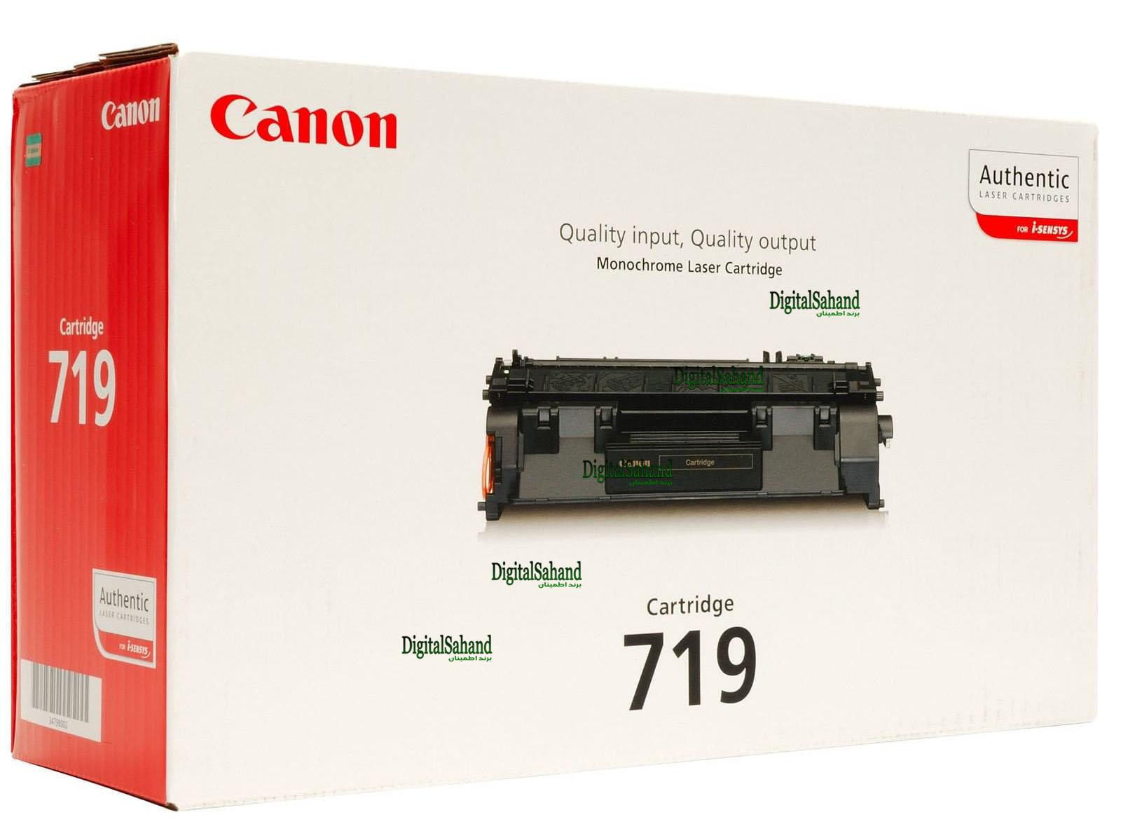 کارتریج تونر مشکی Canon 719