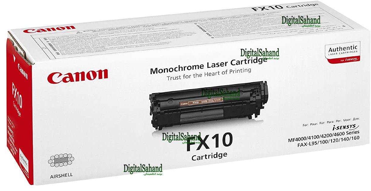 کارتریج تونر مشکی Canon fx10