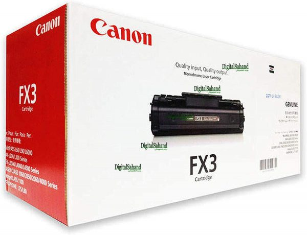 کارتریج تونر مشکی Canon fx3