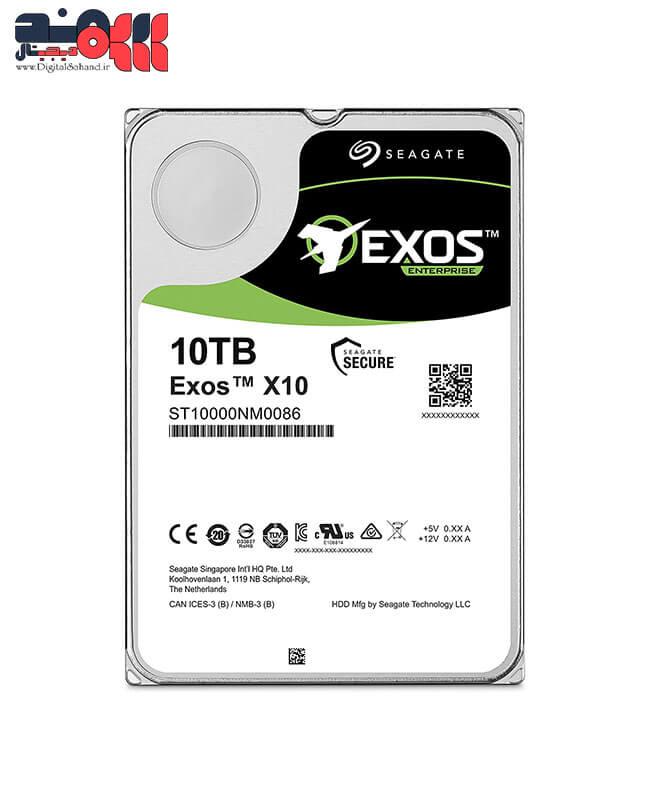 هارد دیسک سیگیت ExosX10